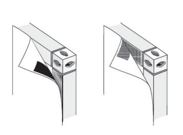 Варианты крепления фотопанелей на стенд Expoframe - гибкие фотопанели