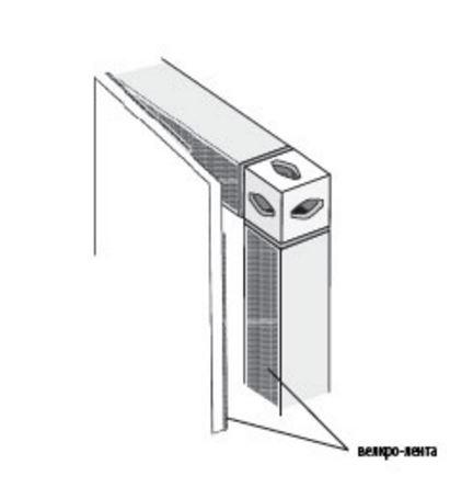 Варианты крепления фотопанелей на стенд Expoframe - жесткие фотопанели